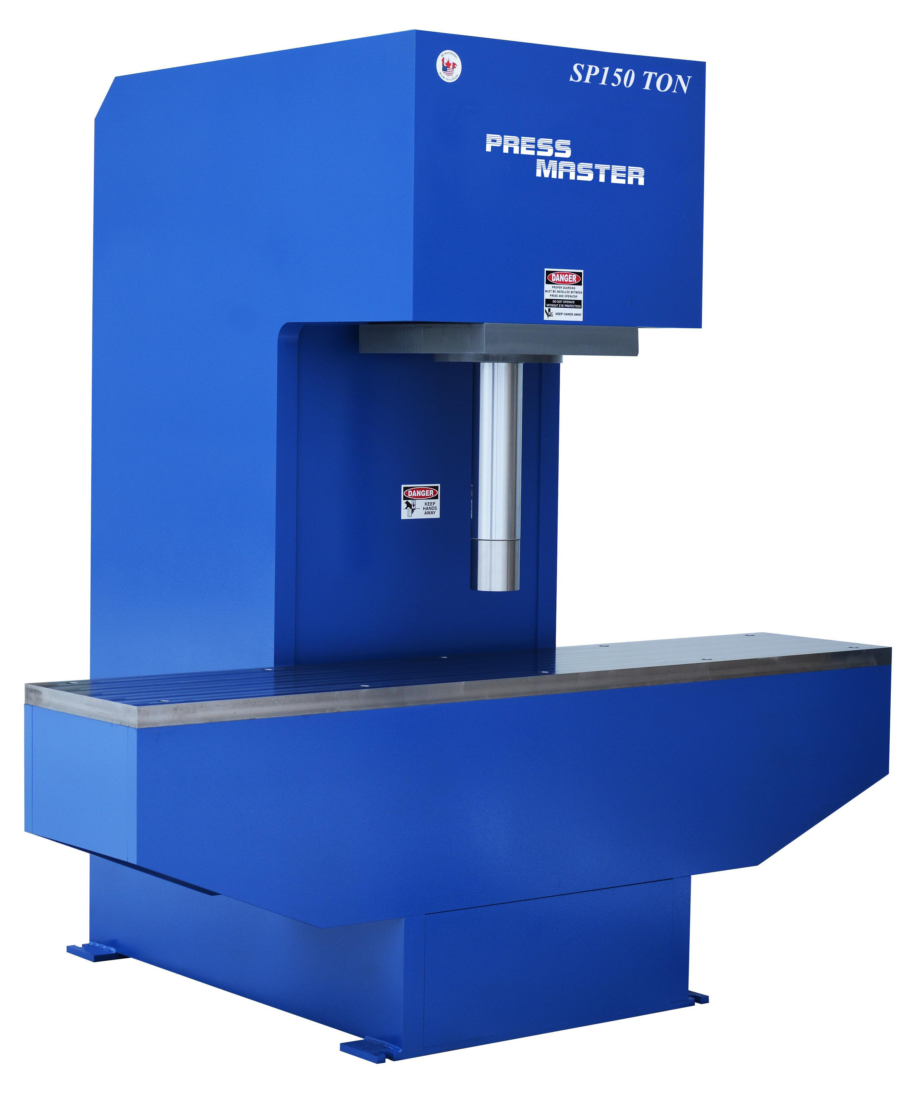 Hydraulic Presses Specialist - Shop H Frame Press - C Frame
